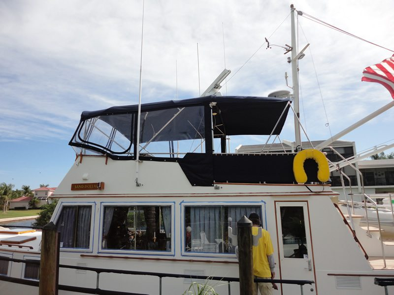 49 Foot Grand Banks With Complete Refit Of All Canvas On Boat