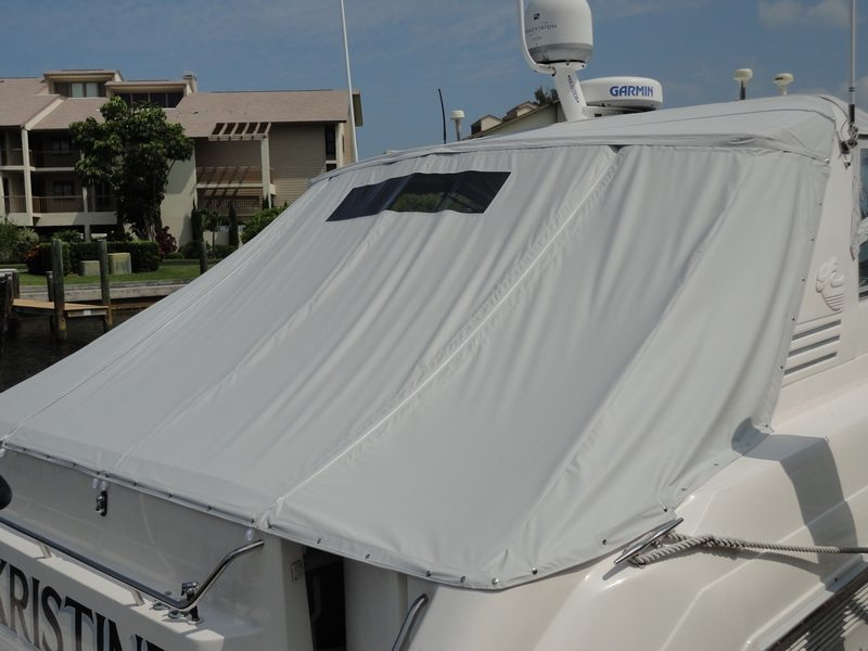 Custom Aft Cover For 50ft SeaRay Cortez Florida
