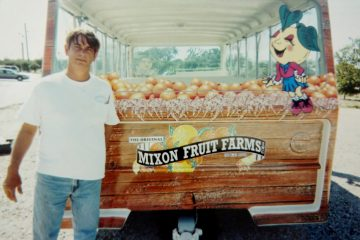 Custom Canvas And Zippered Windows On Mixon Fruit Farms Tram Car