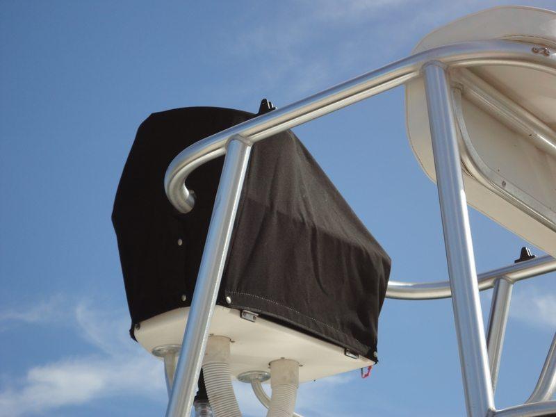 Flybridge Steering Instrument Cover