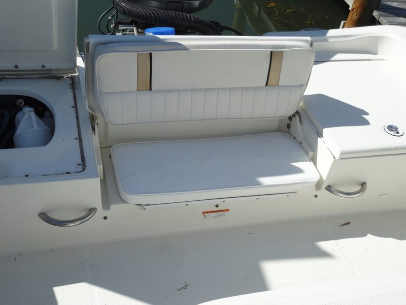 Stern Seat Reupholstery